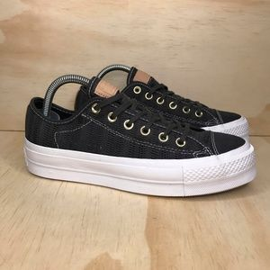 NIB Converse All Star CTAS Lift Herringbone